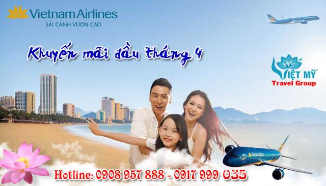 Khuyến mãi đầu tháng giá tốt Vietnam Airlines