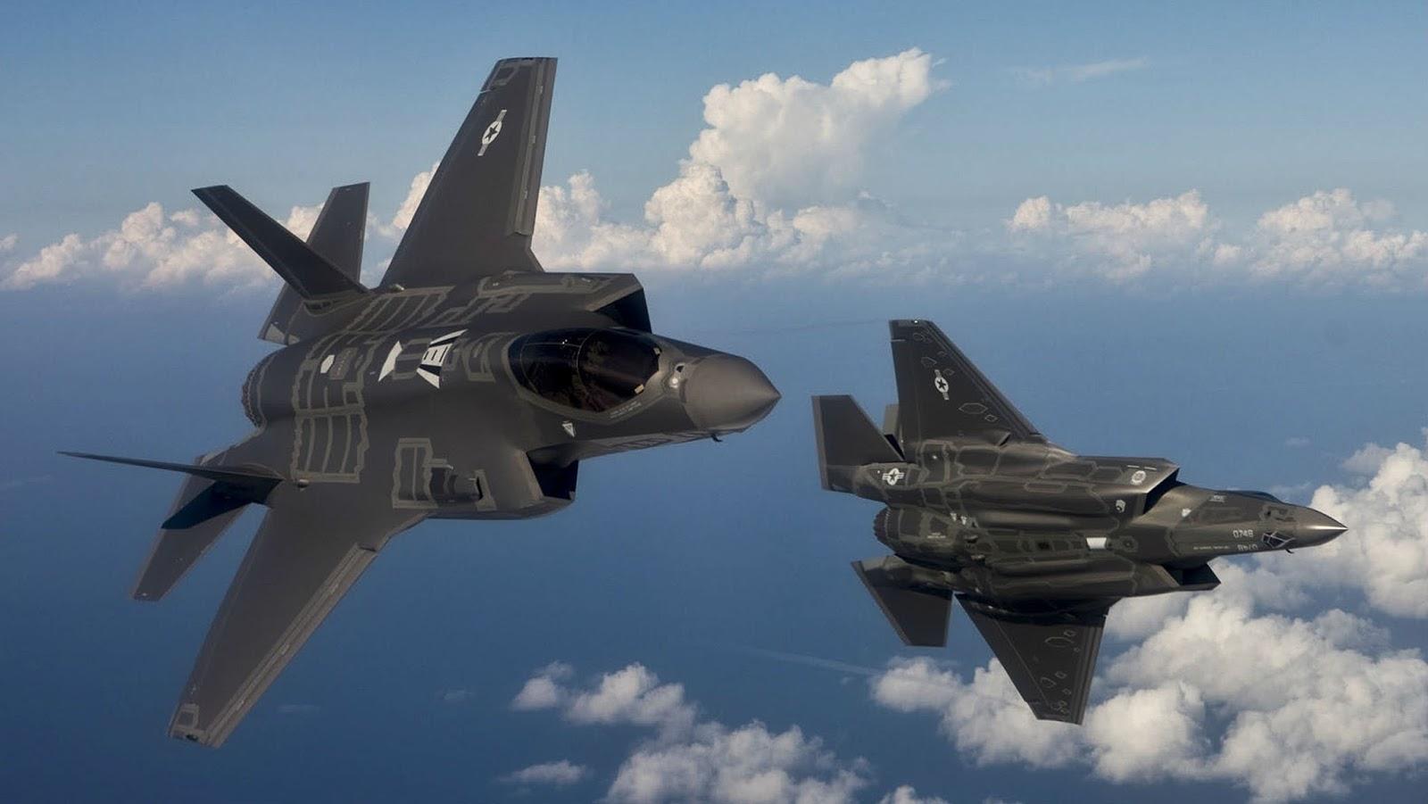 Jet Tempur F-35 Joint Strike Fighter pesawat canggih