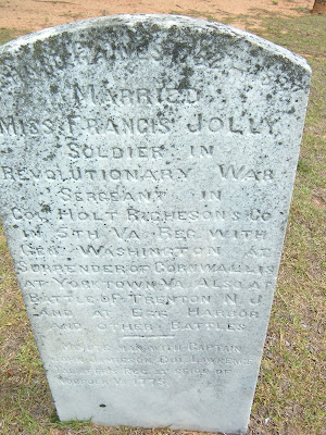 Tombstone of Richard Gaines Laurens Co, SC https://jollettetc.blogspot.com