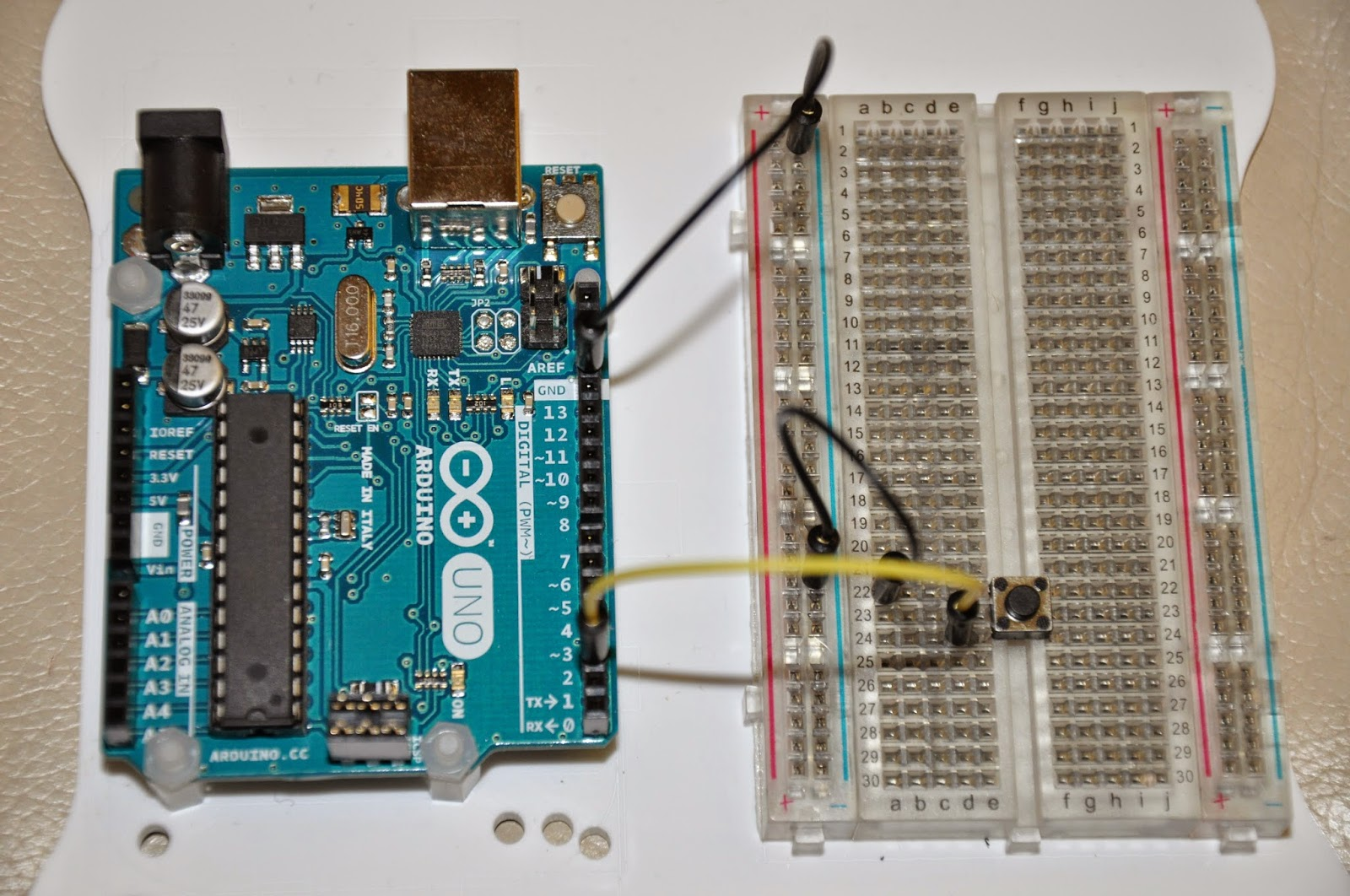 chriga's blog: Audino - Arduino MP3-Player (5) - Knöpfe