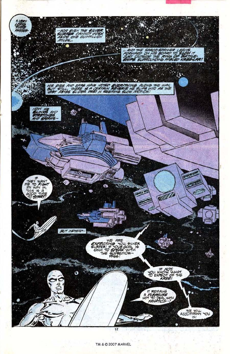 Read online Silver Surfer (1987) comic -  Issue #7 - 25