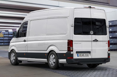 Volkswagen Crafter Panel Van (2017) Rear Side