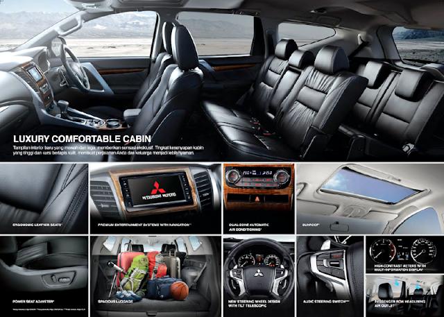 Kelebihan dan FItur Interior Mitsubishi All New Pajero Sport 2016