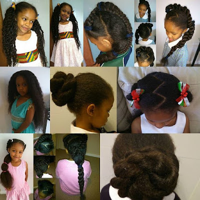 10 Instagram Natural Hair Kids Style Collages You Will Love