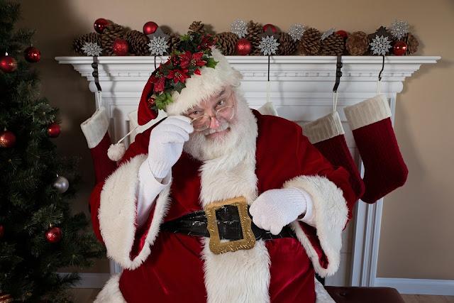 A czyTy byłeś grzeczny wtym roku? Napewno? Święty Mikołaj