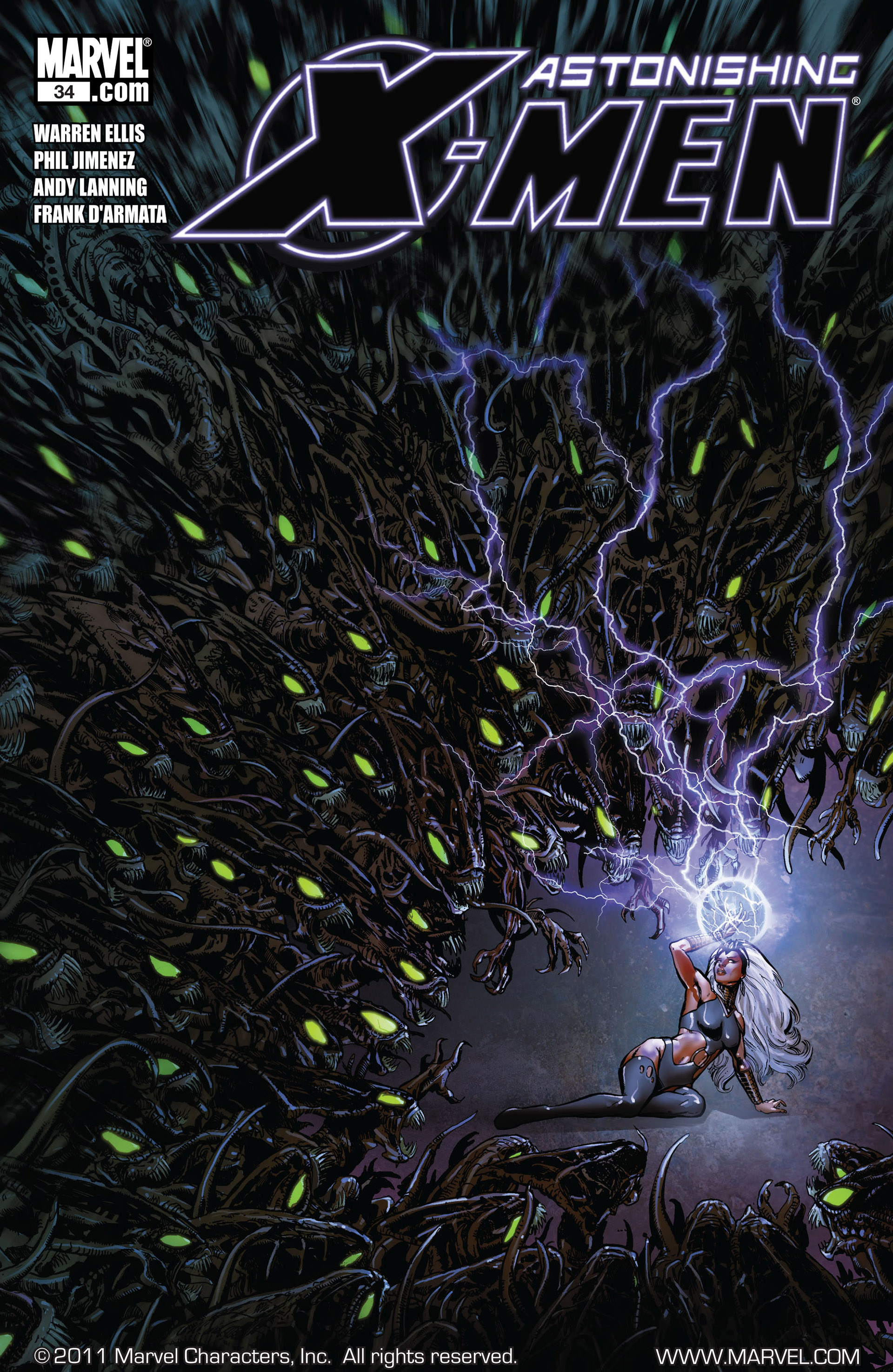 Read online Astonishing X-Men (2004) comic -  Issue #34 - 1