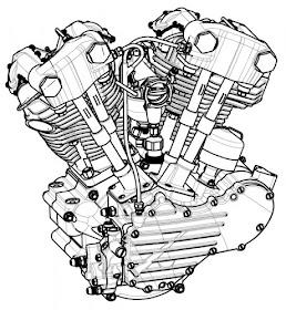 Blog do Wilson Roque: Motores H-D de 1911 a 2007
