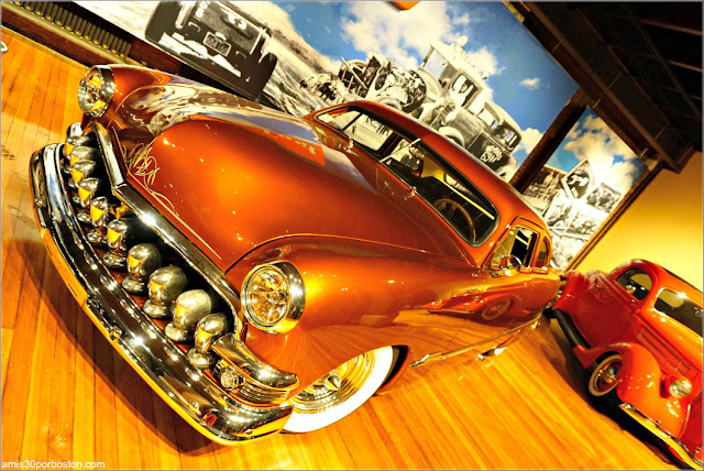 """Lookin' East: Art and Imagination of the New England Hod Rod"": 1951 Ford Shoebox 2-Door Custom Sedan"