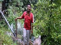 Pak Bon keren berhasil ciptakan pompa hidram di kecamatan panggul