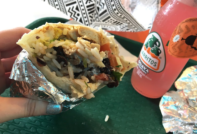 Changos Burrito Bar, Manchester Oxford Street Review