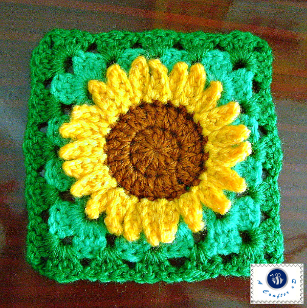 Crochet Sunflowers Pattern free