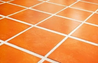spacing of floor tiles