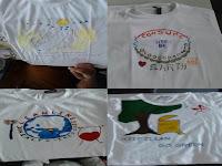 T-Shirt Painting Murah Untuk Ultah di Jakarta