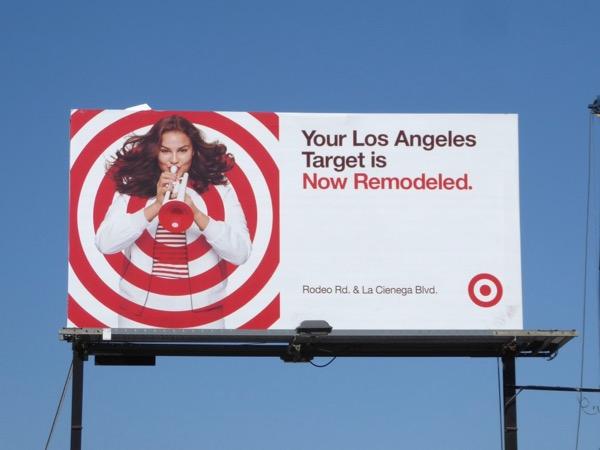 LA Target now remodeled billboard