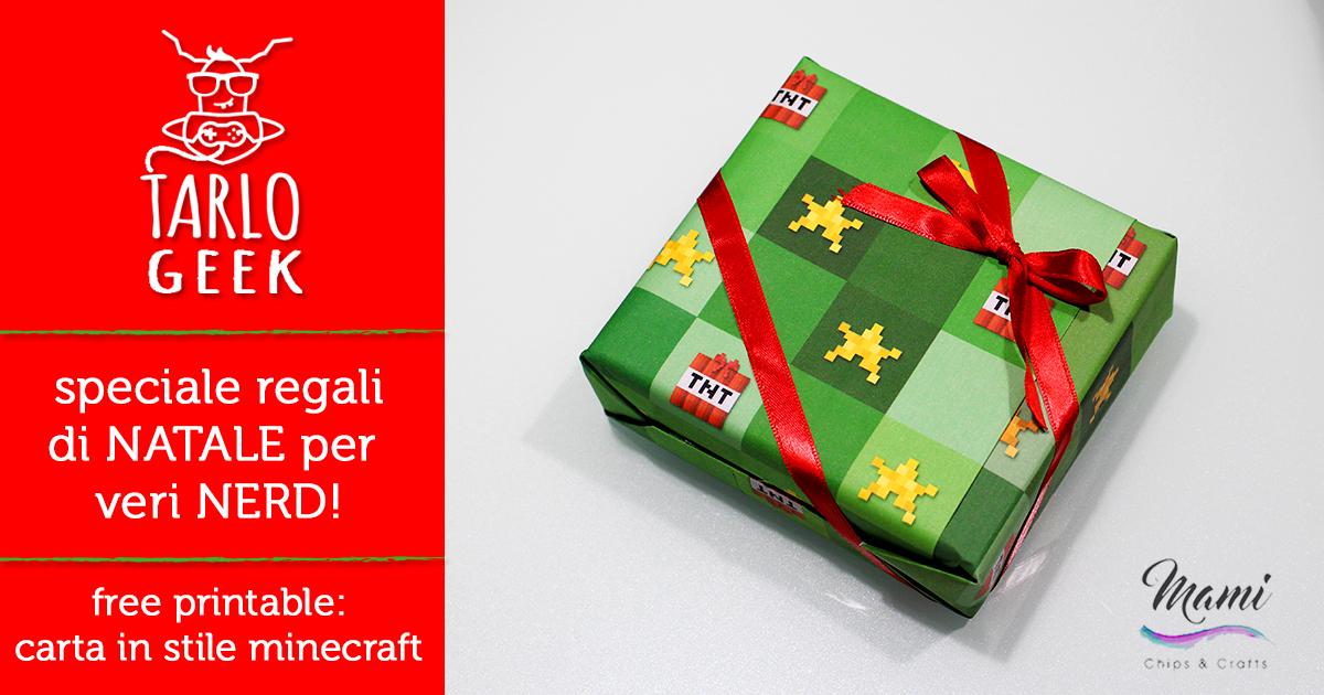 Regali Di Natale Per I Ragazzi.Mami Chips Crafts Regali Di Natale Per Nerd E Geek