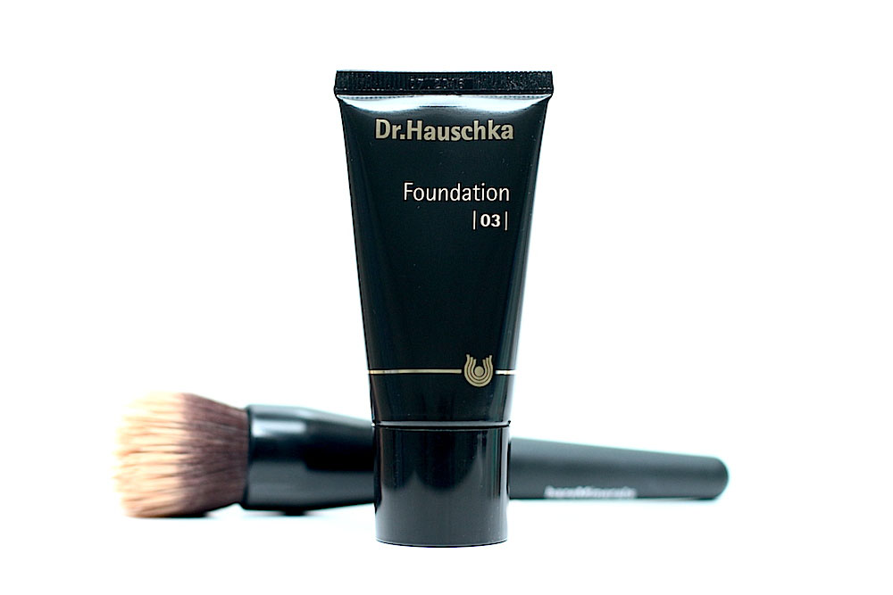 dr hauschka fond de teint foundation avis test swatch