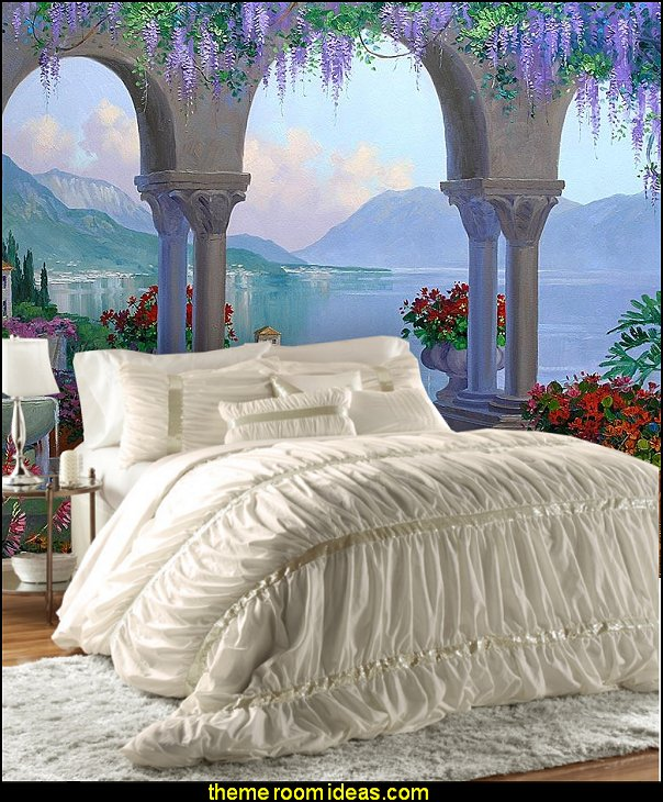 House of Hampton bedding mythological theme bedroom decorating