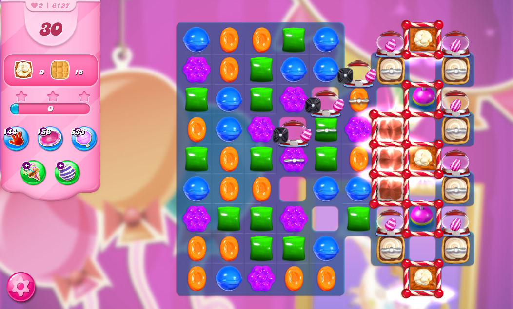 Candy Crush Saga level 6127