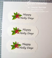 Happy Holly Days graphic by Grace Baxter