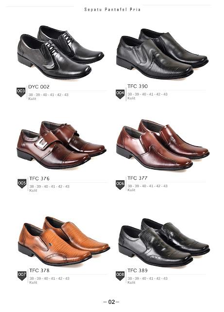 Katalog sepatu kulit Cibaduyut Bandung
