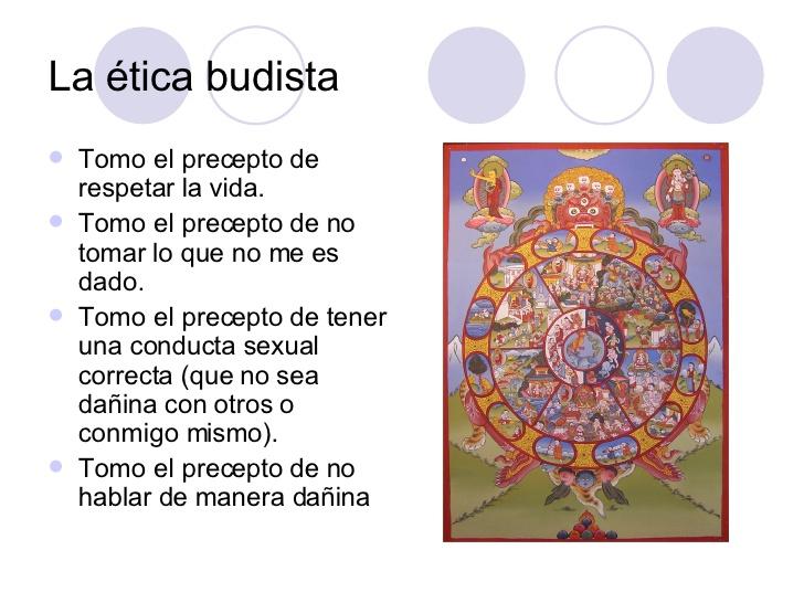 Mederi cuerpo palabra mente ense anzas budistas - Mandamientos del budismo ...