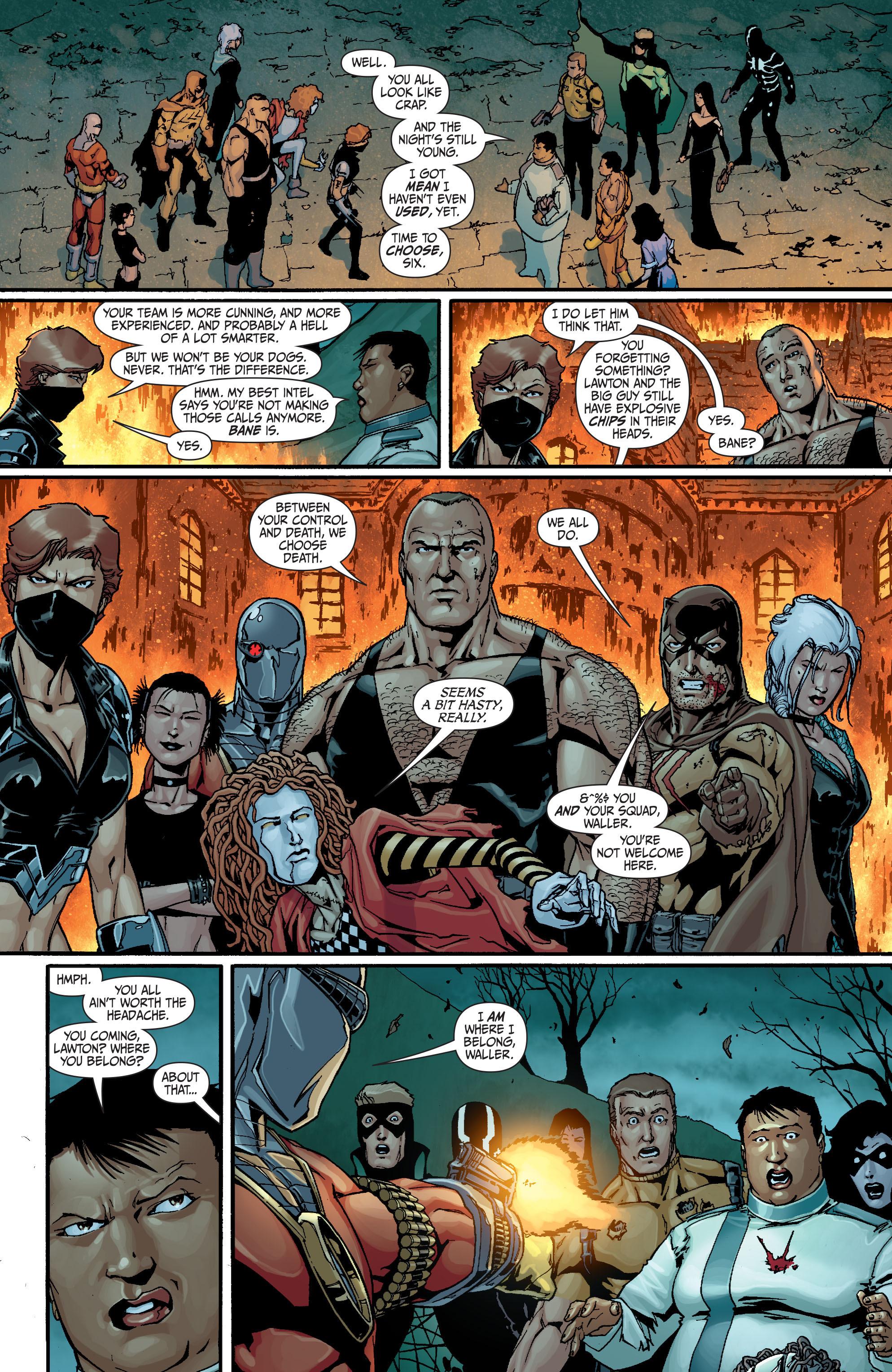 Read online Secret Six (2008) comic -  Issue #18 - 20