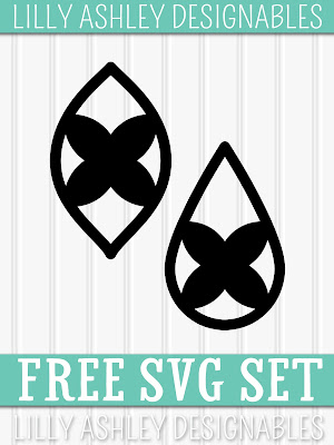 Freebie Monogram SVG Letter Set