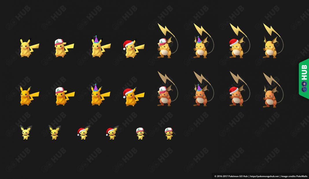 La aplicación de Pokémon GO añade los modelos shiny de Pikachu y Raichu