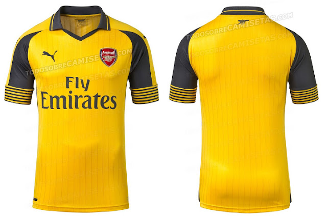Arsenal Away 2016/2017