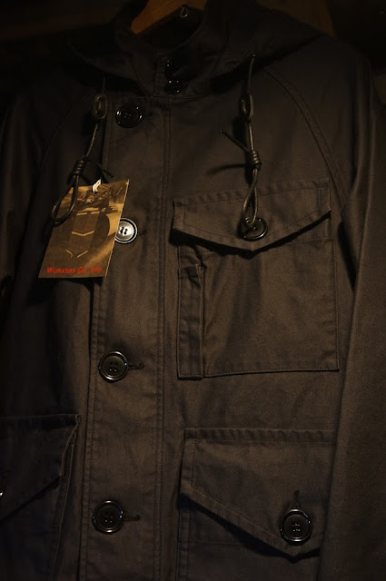 Workers RAF PARKA Reversed Sateen Black, Ref M-1951