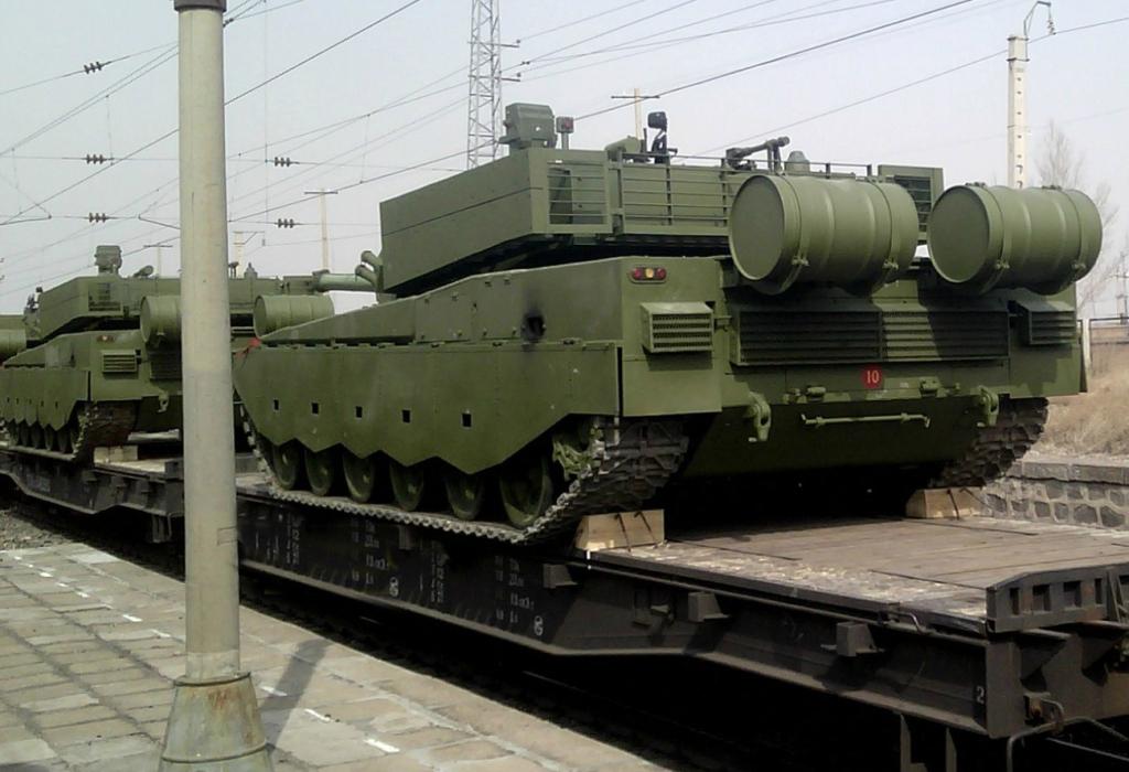 Chinese ZTZ-99A2 (Type 99A2) Main Battle Tank | Chinese ...