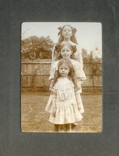 sisters, girls, Edwardian, Edwardian dresses