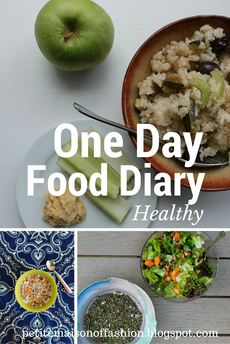 One Day Healthy Food Diary