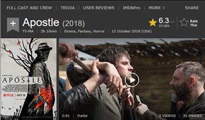 Apostle, Nabi Palsu Netflix!