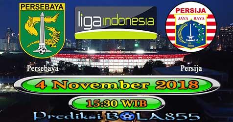 Prediksi Bola855 Persebaya vs Persija Jakarta 4 November 2018