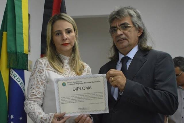 Prefeito e Vereadores eleitos em Amparo foram Diplomados