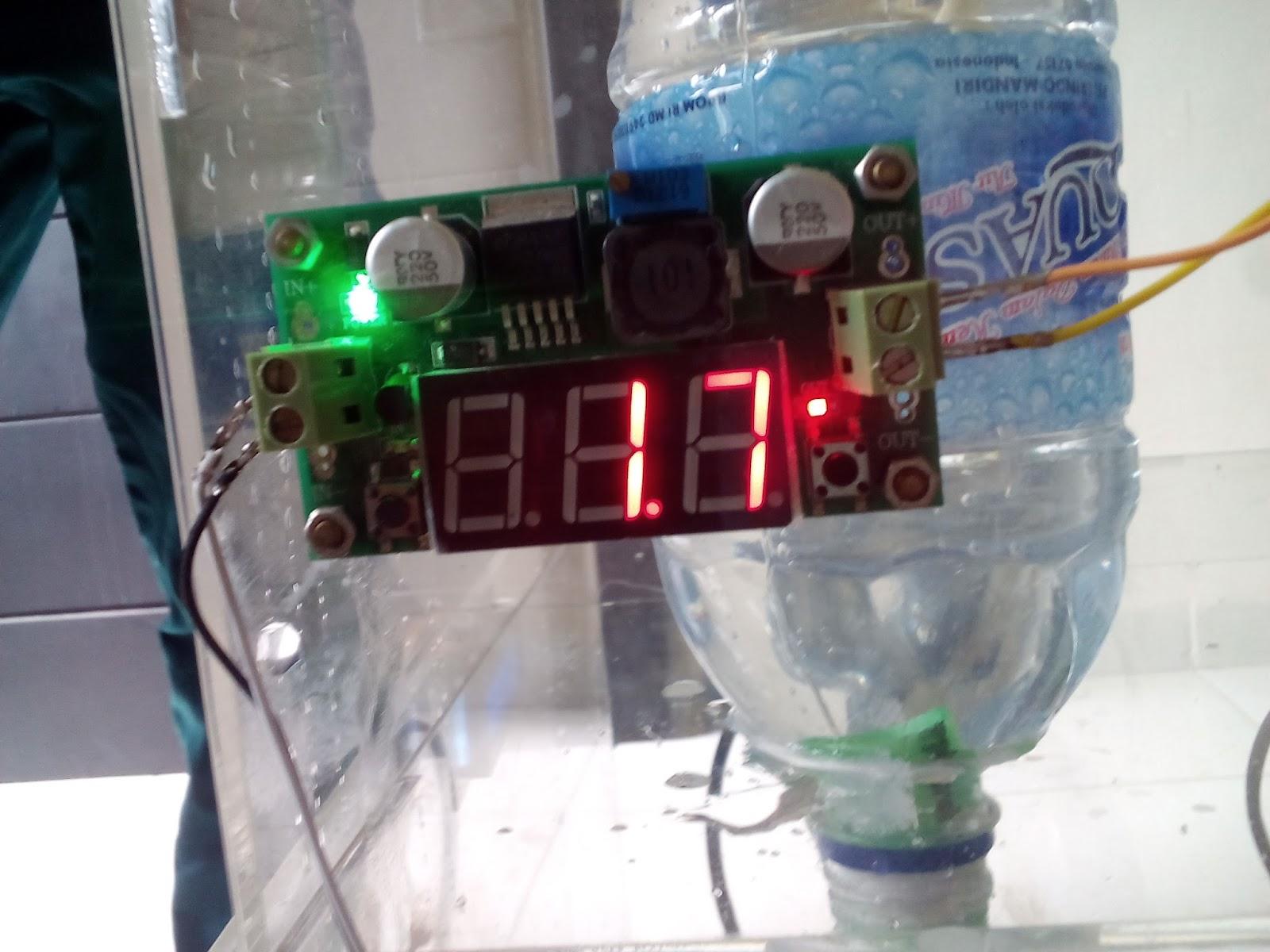 Mengakses Solenoid Valve dan Water Flow Meter Sensor untuk Water