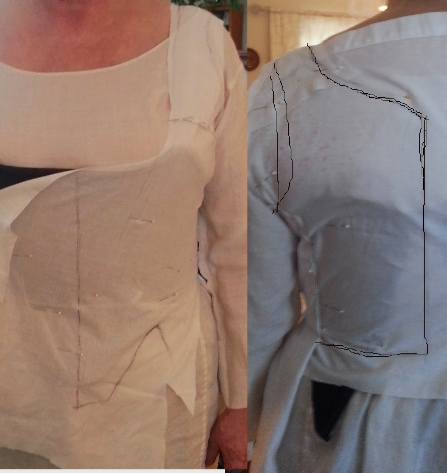 50b74de74fb On Living History  HSF Challenge  5  Bodice (or my first try at ...