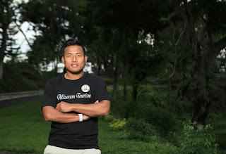 Footballer Jeje Lalpekhlua Brand Ambassador Mizoram Tourism