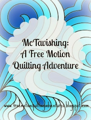 Free motion quilting McTavishing