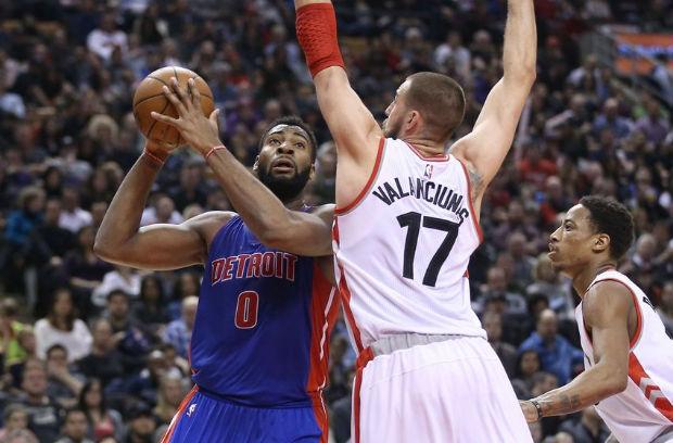 Detroit Pistons contre Toronto Raptors est l'affiche de cette nuit