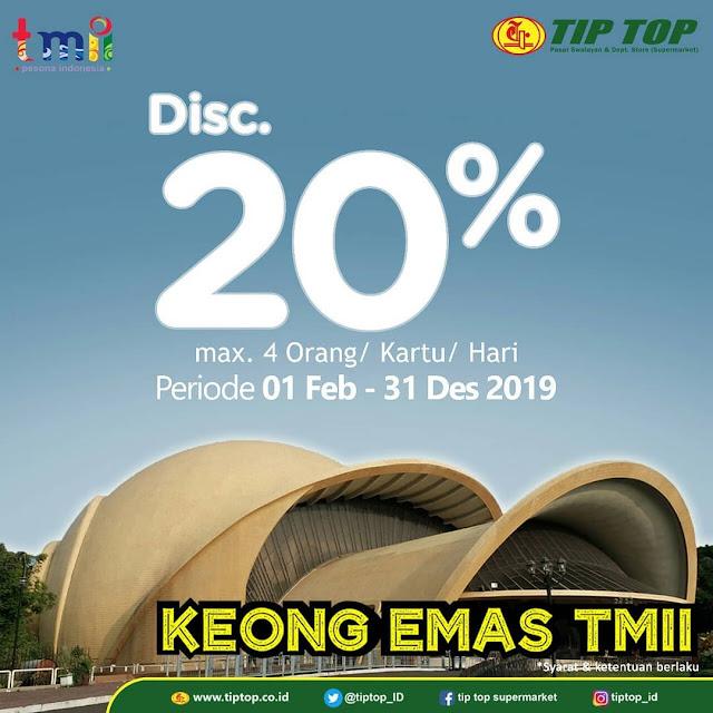 #TipTop - #Promo Tiket Hiburan & Wisata di Tempat Favorit Khusus Member Card (s.d 31 Des 2019)
