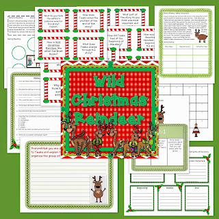 Wild Christmas Reindeer is a holiday favorite, but how about working on skills with it too. Check out this post for details on what you can teach with this wonderful mentor text