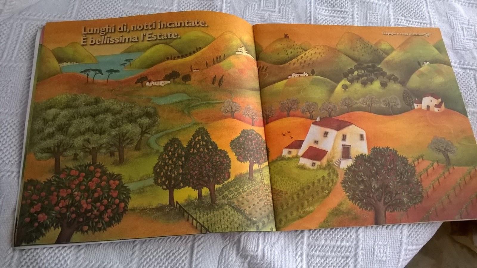 La terra delle cose buone. Album per bambini