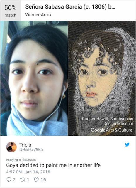10 Lukisan yang Mirip dengan Orang Asli
