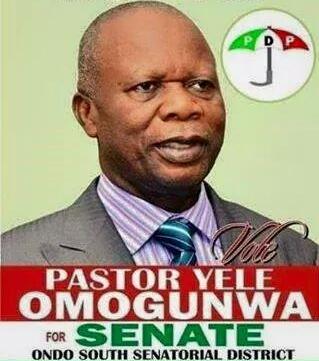 pastor yele omogunwa