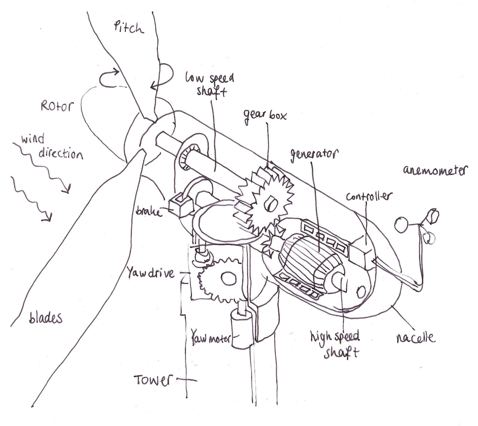 Buckylab How It Works Wind Turbine