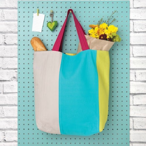 Cool Colourblock Tote Kit + the Giveaway Winner!
