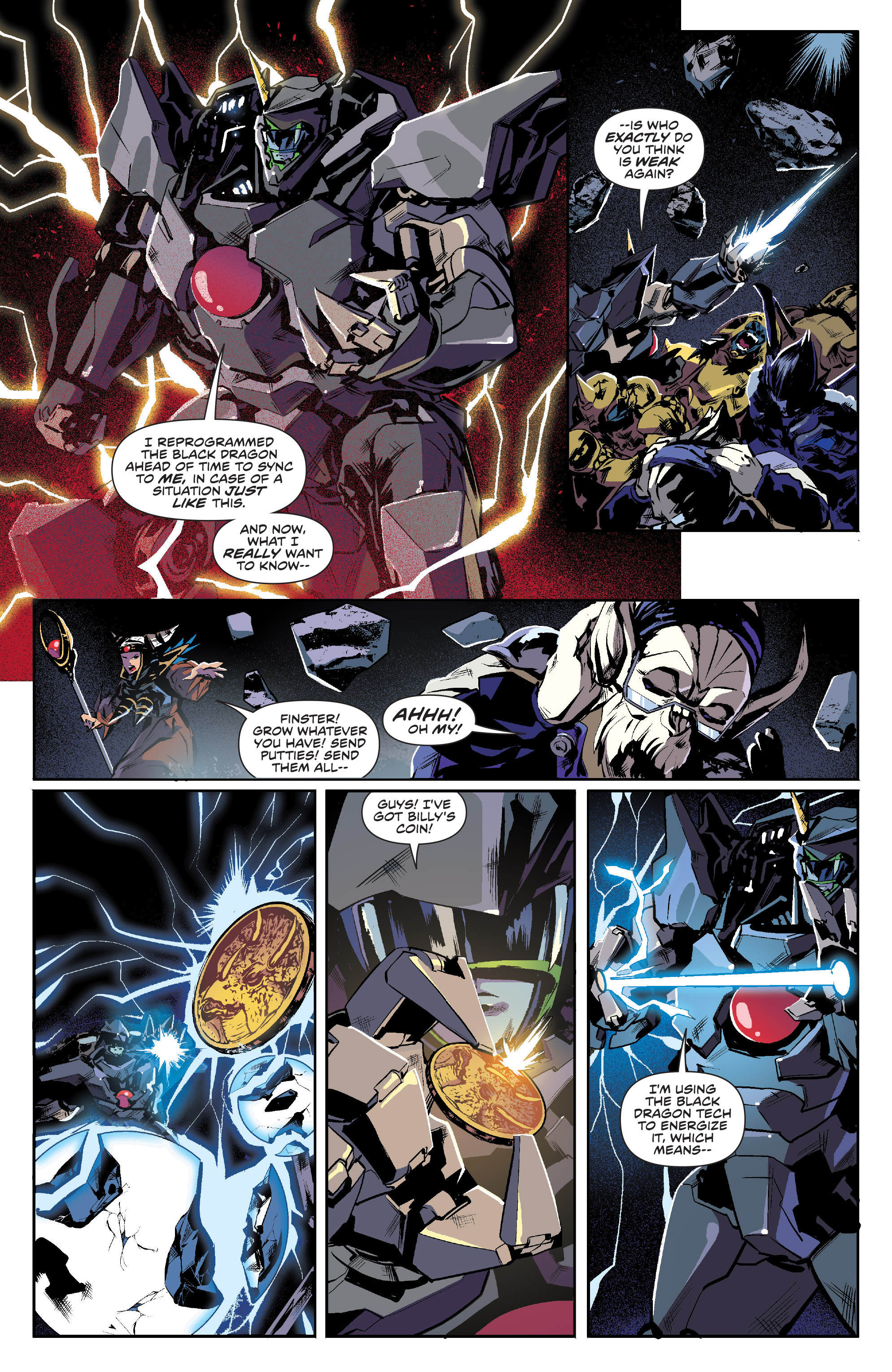 Read online Mighty Morphin Power Rangers comic -  Issue #16 - 6