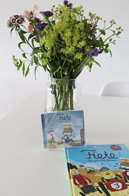 Neuerscheinung Kinderbuch Fiete Hoerspiel CD Bilderbuch Das verrueckte Rennen inkl Verlosung neue App Fiete Cars Jules kleines Freudenhaus